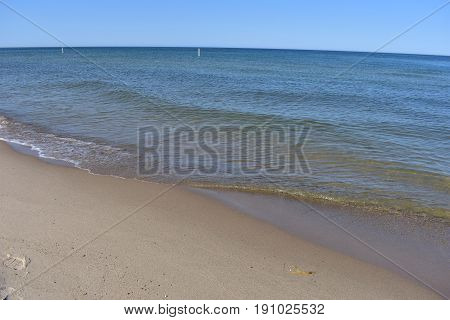 Lake Michigan Beaches - This photo was taken in Holland Michigan
