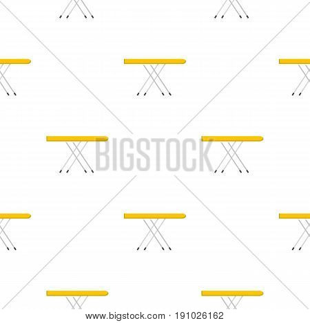 Ironing board pattern seamless flat style for web vector illustration