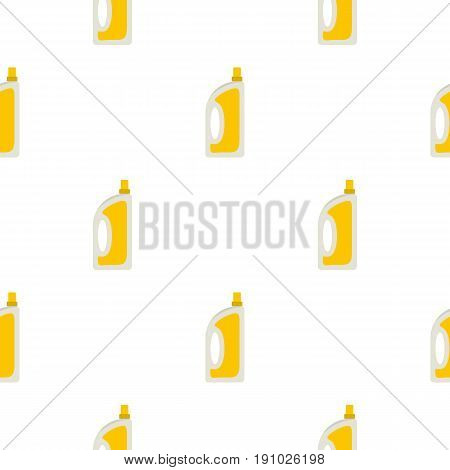 Bottle of conditioning or detergent pattern seamless flat style for web vector illustration