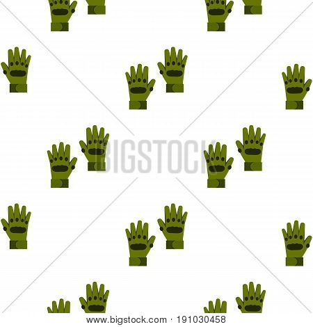 Pair of paintball gloves pattern seamless flat style for web vector illustration