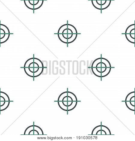 Crosshair pattern seamless flat style for web vector illustration