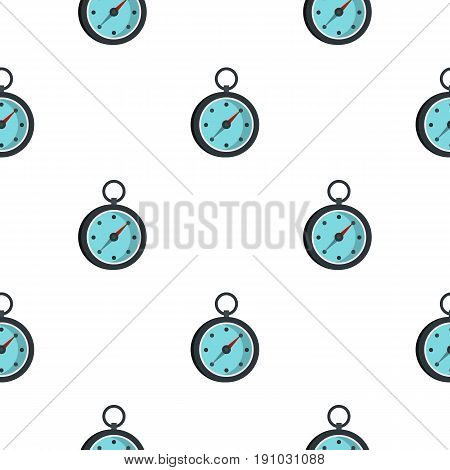 Compass pattern seamless flat style for web vector illustration