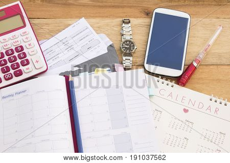 document monthly statement expense of credit card