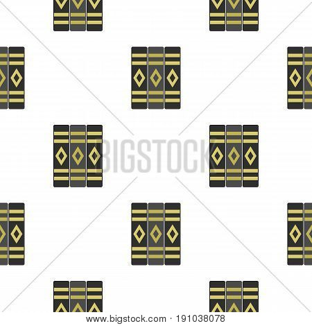 Three literary books pattern seamless flat style for web vector illustration