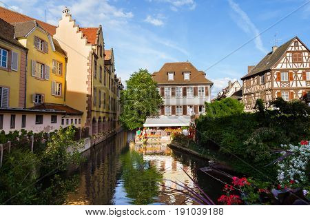 View Of Colmar, Alsace, France