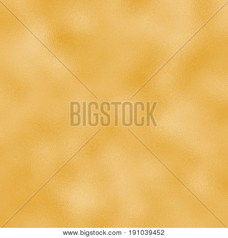 Colored foil raster texture for festive background. Golden foil pattern tile. Wedding or birthday golden backdrop . Square greeting card background. Yellow gold gradient. Golden foil texture swatch