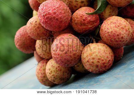 Vietnam Fruit, Litchi Or Lychee