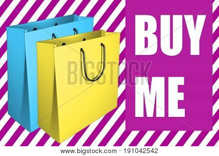 Buy Me - Business Concept
