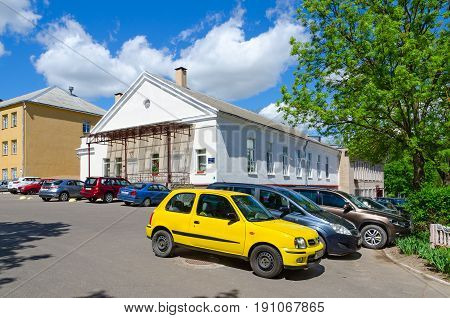 VITEBSK BELARUS - MAY 25 2017: Student town of Vitebsk Order
