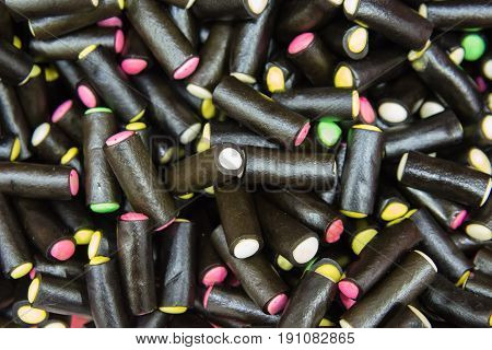 Licorice pencils or Liquorice Cream Rock on market