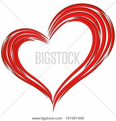 Red Heart Love Symbol
