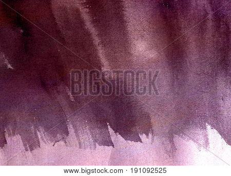 Abstract Watercolor Background  paint art design purple