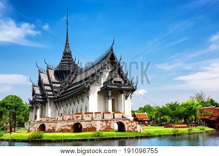 Sanphet Prasat Palace Ancient City Bangkok Thailand