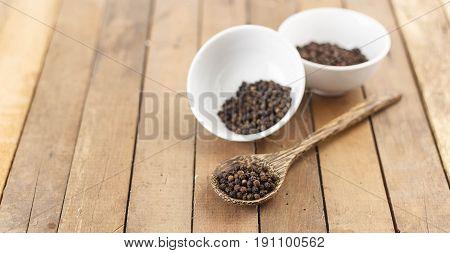 Group Of Black Pepper
