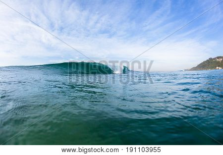 Wave Hollow Swimming