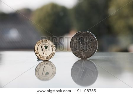Gold Peercoin And Silver Litecoin