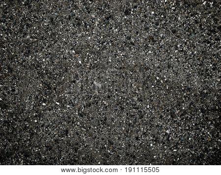 Asphalt, asphalt texture, abstract grunge background, dark, grunge asphalt
