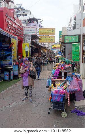 Small Street Along Sukhumvit Road, Bangkok