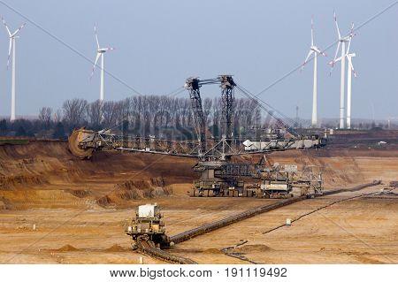 Bucket Wheel Mining Machinery