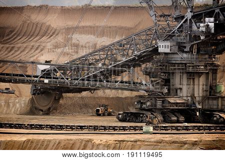 Bucket Wheel Mining Machinery