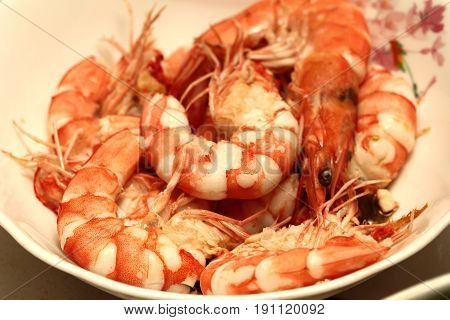 Bolied Fresh Shrimp,prawn For Cooking