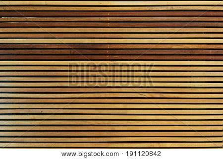 Pattern Texture Background of Wood Plank as Wall