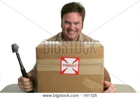 Böse Delivery Man