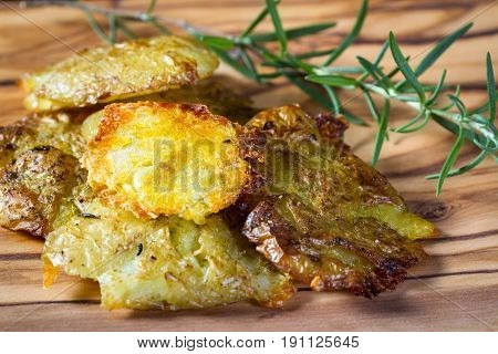 Baked Smashed Potatoes