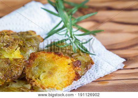Baked Smashed Potatoes