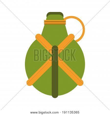 hand grenade icon image vector illustration design