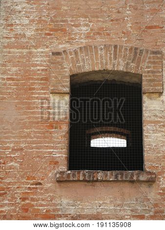 Window Of An Old Brick Building