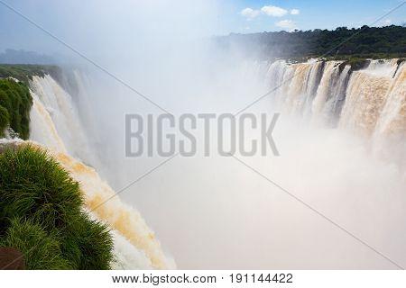 Famous Iguacu Falls