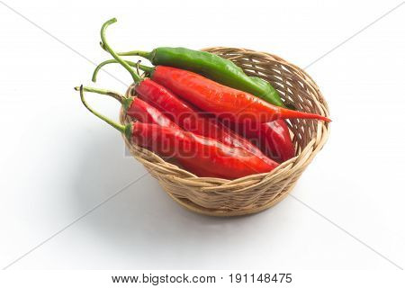 Fresh Chilly Pepper. Dedo De Moca