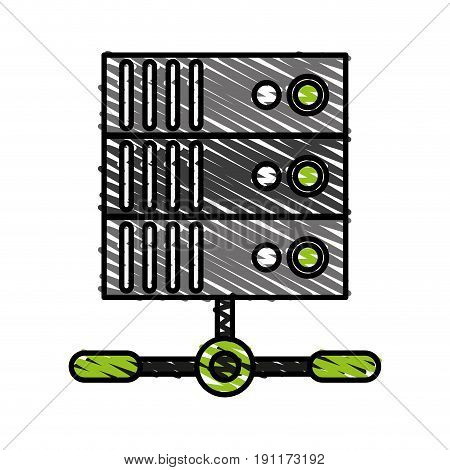Electronic base date icon vector illustration design graphic doodle