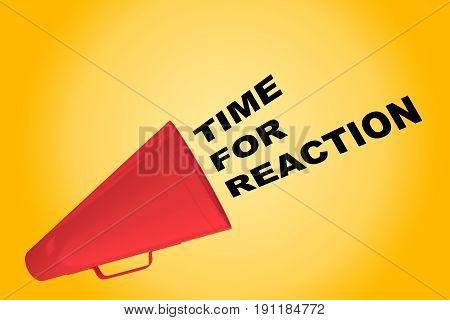 Time For Reaction Concept