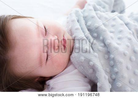 Little Baby Boy Sleeping