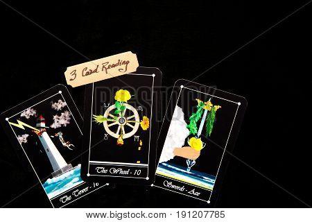 Tarot Deck - Tarot 3 Card Readings