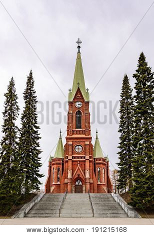 Mikkeli cathedral view, Eastern Finland