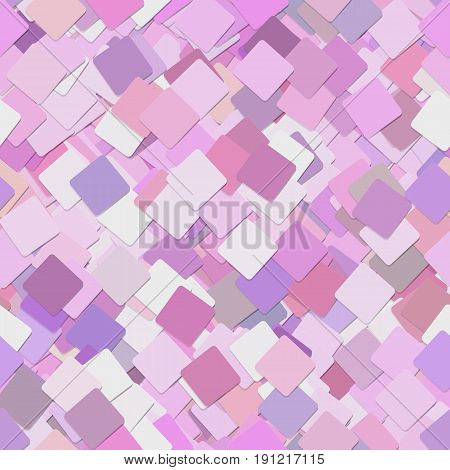 Colorful abstract business concept background - seamless pattern from angular rounded squares - vector graphic