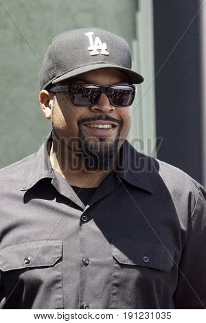 LOS ANGELES - JUN 12:  Ice Cube at the Ice Cube Star Ceremony on the Hollywood Walk of Fame on June 12, 2017 in Los Angeles, CA
