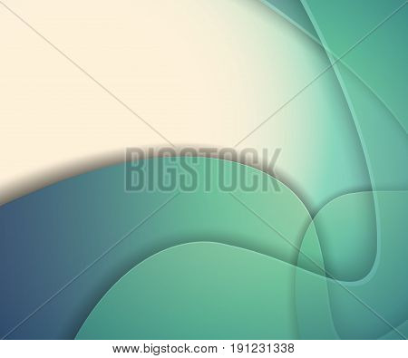 Bright vector background. Wavy lines, elements for design. Vector template for presentations, brochures, annual reports. Eps10