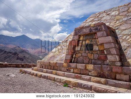Pukara de Tilcara pre Columbian fortifications Argentina poster