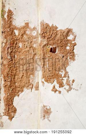 Santo  Lombardy Italy     Wall Of   Curch Broke Brike Pattern