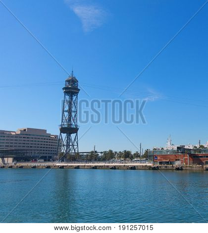 The Port Of Barcelona, At The End Of The Ramblas. Barcelona, Catalonia, Spain