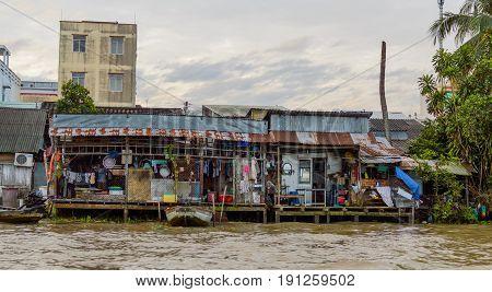 Delta Of Mekong River