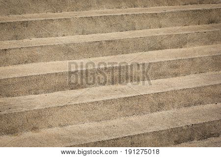 Staircase Or Walkway Surface Made Of Gravel