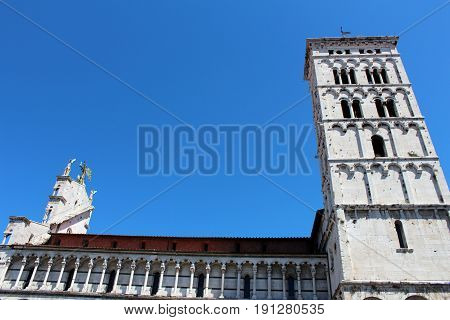 City View Of Lucca, Italy