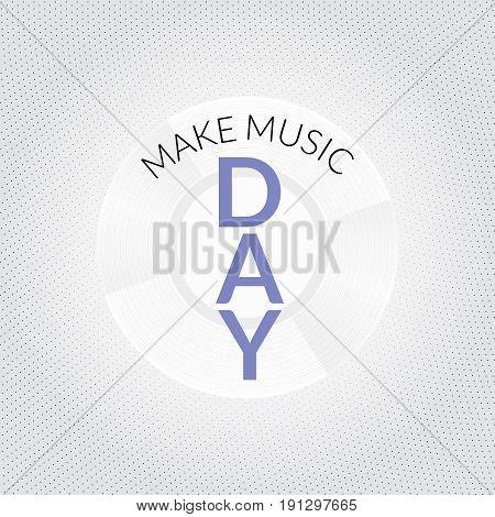 World Music Day Illustration