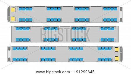 Passenger Metro Train Seat Map