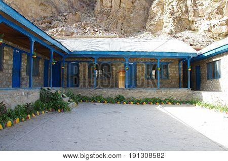 School in a small village of Ladakh, India